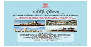 INDOSHNEWS 2020 Vol 1 No.2 (Special edition on Occupational Safety, Health and Working conditions Code, 2020)